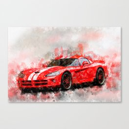 Viper SRT Canvas Print