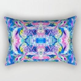 Bathbomb, psychedelic, trip, mushrooms, acid, lsd Rectangular Pillow