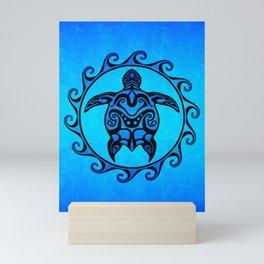 Tribal Turtle Sun Mini Art Print