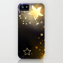 Abstract Space Background iPhone Case