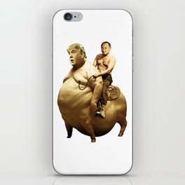 Putin riding Trump iPhone Skin