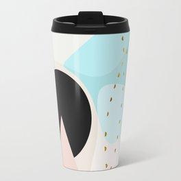 Modern minimal forms 6 Travel Mug