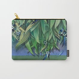 """""""Spring Forest of Surreal Leaf litter and flowers"""" Carry-All Pouch"""