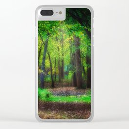 Fall Splendor 2 Clear iPhone Case