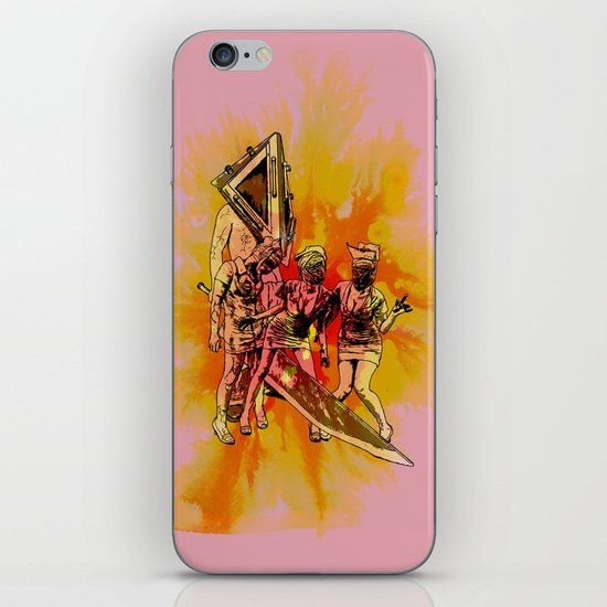 Silent Thrill iPhone & iPod Skin