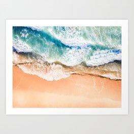 Majestic Wave Art Print