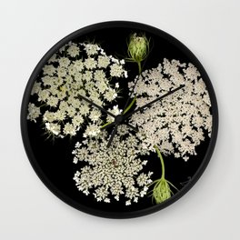Queen Ann's Lace, Scenography Wall Clock