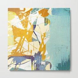 Fragmented  Metal Print