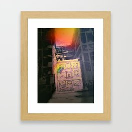 Like a Stone Framed Art Print