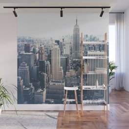 New York City and the Empire State Building Wall Mural