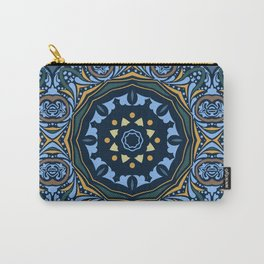 Ethnic mandala (Water) Carry-All Pouch