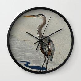 Living On A Beach Wall Clock