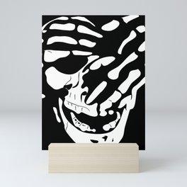 Skull (See No Evil) Mini Art Print