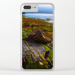 Ucluelet Inlet on an early fall morning Clear iPhone Case