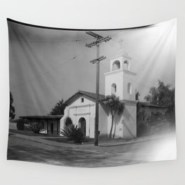 Mission Santa Cruz Wall Tapestry
