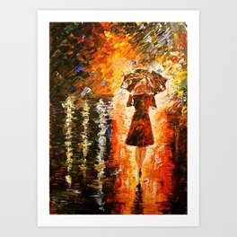 My Rain  Art Print