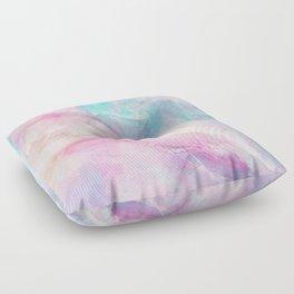 Iridescent marble Floor Pillow