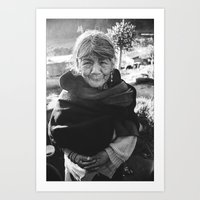 Agualongo de Quichinche, Ecuador  Art Print