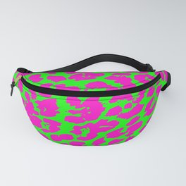 Neon Leopard Print Fanny Pack