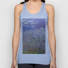 1926-Claude Monet-Water Lilies-199 x 425 Unisex Tank Top