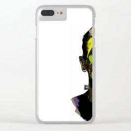 Frankie Boy Clear iPhone Case