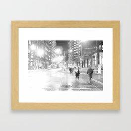DT Streets Framed Art Print