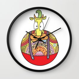 Hungry Heffer Wall Clock