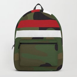 Pattern Army Camouflage Backpack