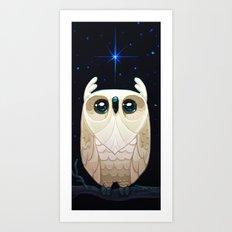 Starla the Owl Art Print