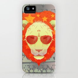 Lion Star iPhone Case