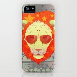 Lion Star iPhone Case