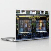 """pun Laptop & iPad Skins featuring The """" Happy new year """" pun by David Pyatt"""