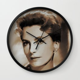 Hollywood Classics, Deborah Kerr, Actress Wall Clock