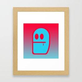 Grubbo Tempcolor Balance. Framed Art Print