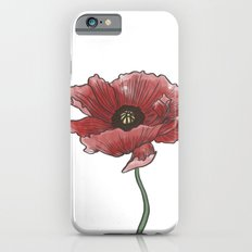 red flower iPhone 6s Slim Case