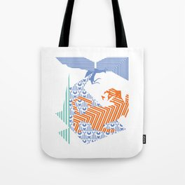 fray (colour) Tote Bag