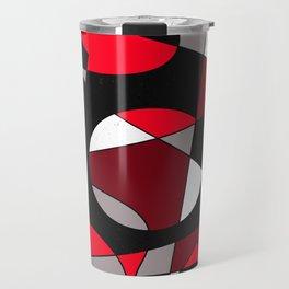 Abstract #107 Travel Mug
