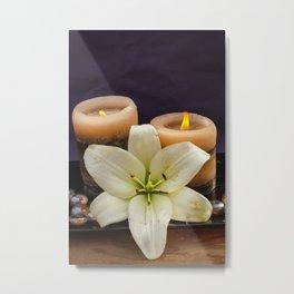 candels Metal Print