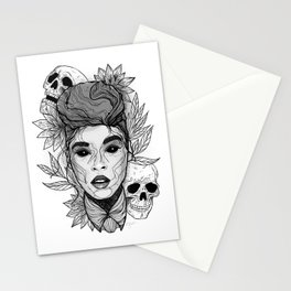 Sincerely, Jane: Suite II Grayscale Overture Stationery Cards