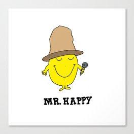 Mr. Happy Canvas Print