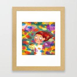 Hello Autmn! Framed Art Print