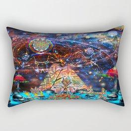 Shaman party Rectangular Pillow