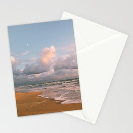 Moon over the Beach Stationery Cards