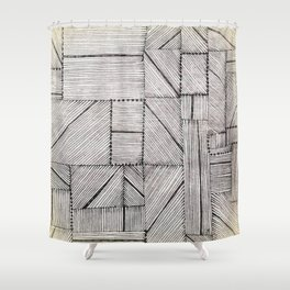 Just Lines 2 Shower Curtain