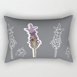 Lavender Play Rectangular Pillow