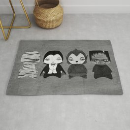 A Boy - Universal Monsters Black & White édition Rug