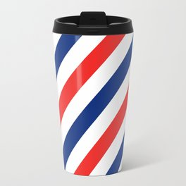 Barber Stripes Travel Mug
