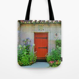 The Chapel at Lourdes Tote Bag