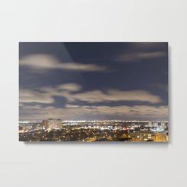 City Lights. Metal Print
