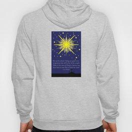 starry sky & crosses (luke 2:10-11)  Hoody